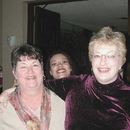 left: Coralu Clements,   back middle: Arlene Rodriguez ,   right: Judy Parker